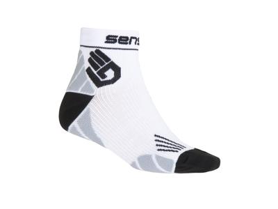 Sensor Marathon - Lette løbestrømper - Hvid - Str. 3-5 / 35-38