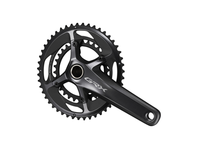 Shimano GRX kranksæt - Dobbelt 48/31 tands - 2 x 11 gear - 170mm pedalarme - FC-RX810