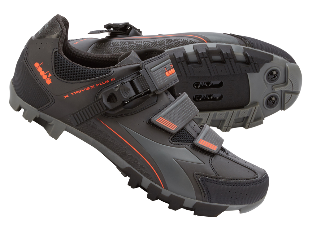 Image of   Diadora - Cykelsko X Trivex Plus III MTB Hr - Str. 38 - Sort/Grå