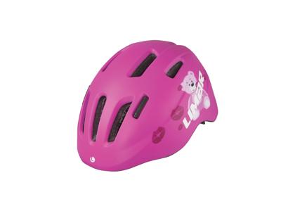 Limar 224 - Cykelhjelm til børn - Str. 46-52 cm - Pink teddy