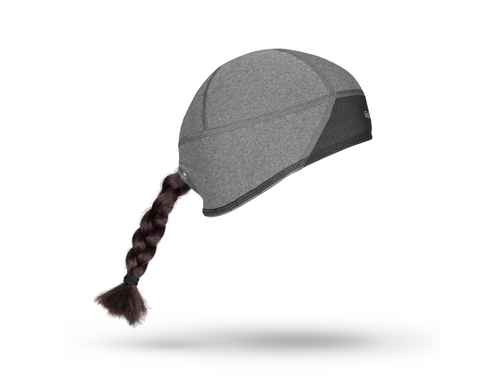 Image of   GripGrab Windproof skull cap - Dame vindtæt hjelmhue - Grå - Str. M
