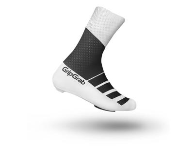 GripGrab RaceAero TT skoovertræk - sort/hvid - str. L (44-47)