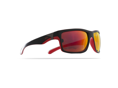 Trespass Drop - Solbrille - Sort/rød