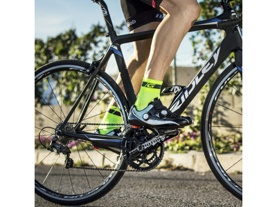 GripGrab Hi-Vis cykelstrømper - Regular cut