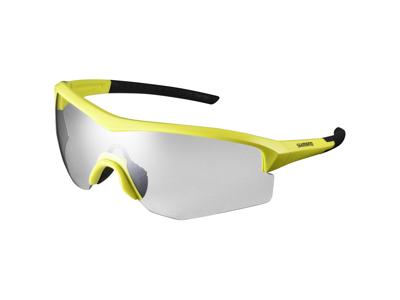 Shimano Cykelglasögon - Spark - Fotokromatiska grå linser - Lime