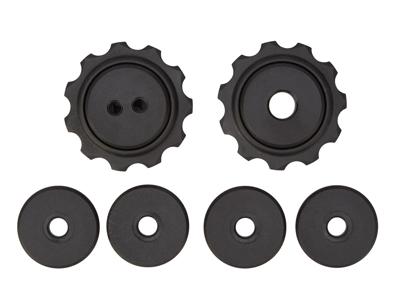 Tacx pulleyhjul med 11 tænder - Til Sram MTB - Rustfrit stål