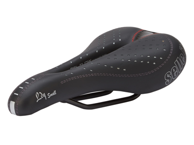 Selle Italia Lady Gel Flow S - Cykelsadel - Sort