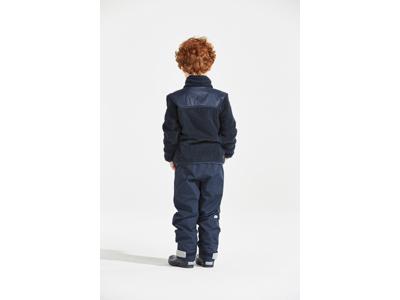 Didriksons Geite Kids Pile Jacket - Fleecejakke Børn - Navy