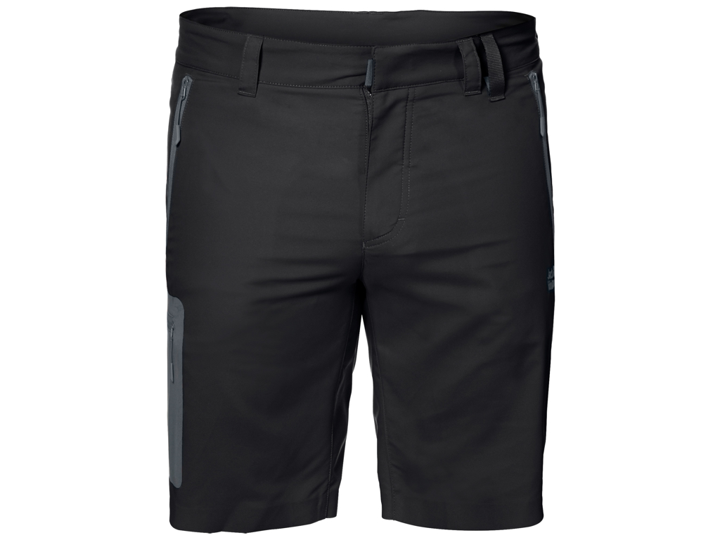 Jack Wolfskin Active Track Shorts - Hr. Str. 50 - Black thumbnail