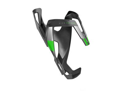 Elite Vico Carbon - Flaskeholder 23 gram - Matsort/Grøn