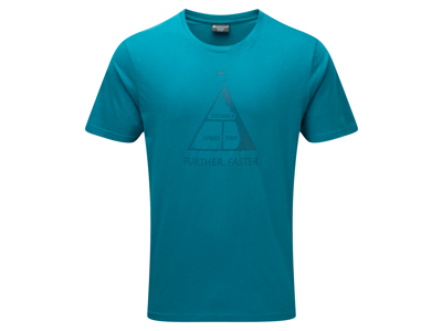 Montane Further Faster Tee - T-Shirt Mand - Blå