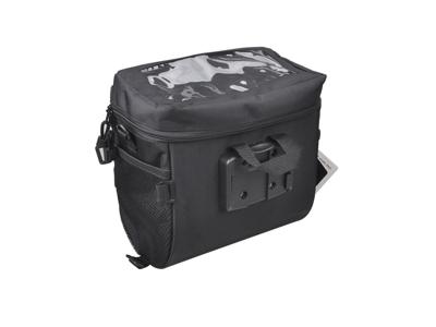 Easydo - ED-1334 - Taske til styr - Med klikbeslag - 6 Liter - Sort