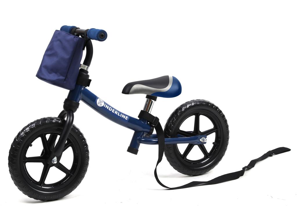 Image of   Kinderline - Løbecykel - Med EVA foam dæk - Blå