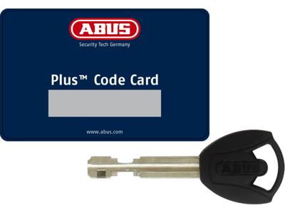 Abus 5950 Pro Shield Plus - Ringlås med 85cm kæde og taske