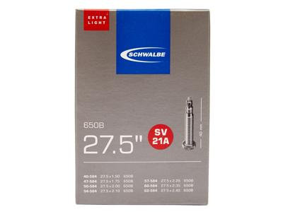 Schwalbe slange 27,5x1,50/2,40 X-Light med Racer ventil SV21A