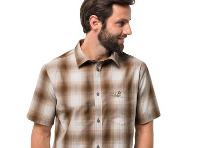 Jack Wolfskin Hot Chili Skjorte - Herre - Brunternet