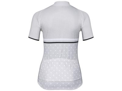Odlo Element Print - Cykeltrøje med korte ærmer - Dame - Grå