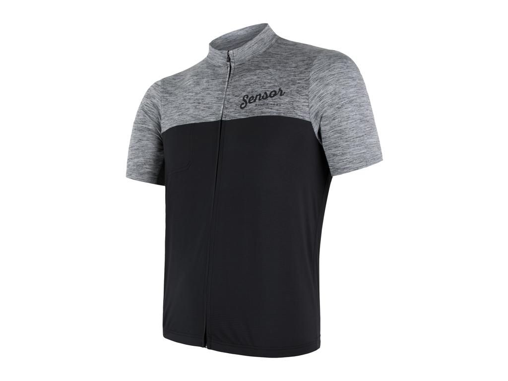 Sensor Motion FZ Jersey  - Cykeltrøje med kort ærme - Grå/Sort - Str. S thumbnail