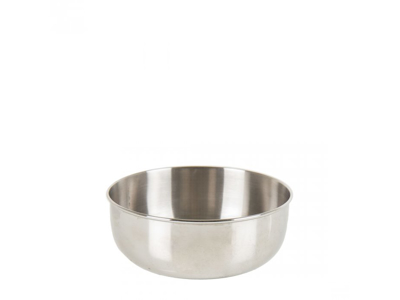 LifeVenture Stainless Steel Camping Bowl - Skål - Rustfrit stål