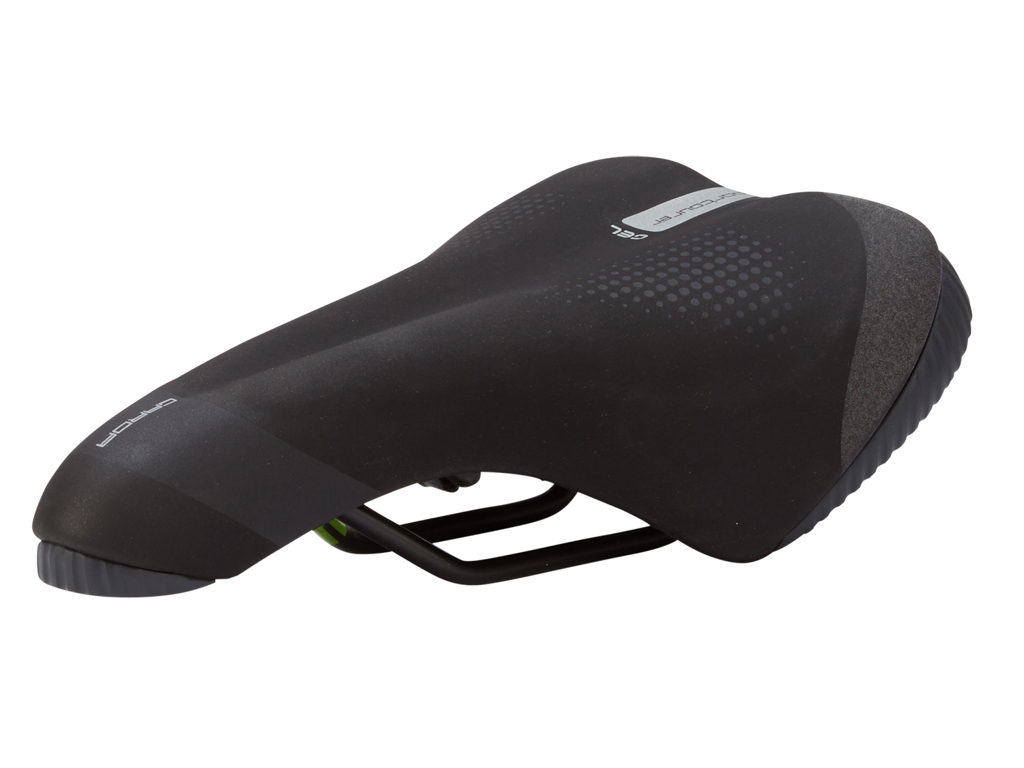 Image of   Selle Italia Garda Man Gel - Sadel - Sportourer - Sort