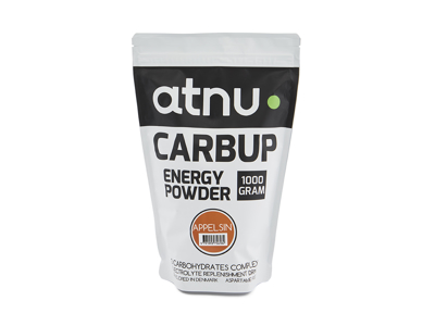 Atnu Carbup Energipulver - Appelsin - 1000 gram