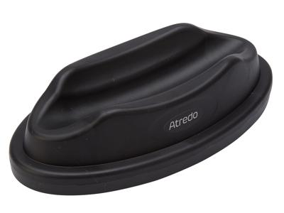 Atredo - Forhjulsblok til hjemmetræner - Plast - Sort