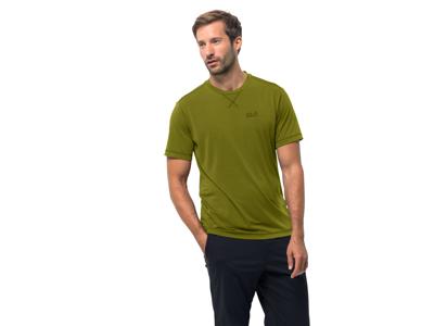 Jack Wolfskin Crosstrail T - T-Shirt - Herre - Lysegrøn