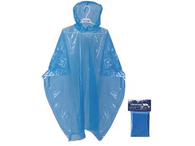 Trespass Drylite - Poncho - PE plastik - Blå