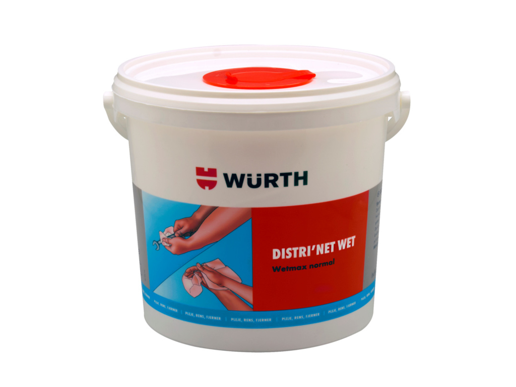 Würth - Distrinet normal - Renseservietter - 150 stk