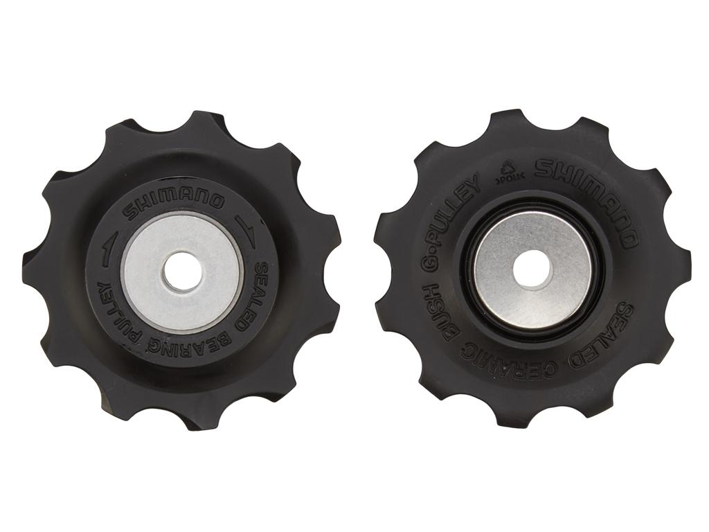 Image of   Shimano RD-6700 Ultegra/XT - 11 tands pulleyhjul sæt - Til 9 og 10 gear