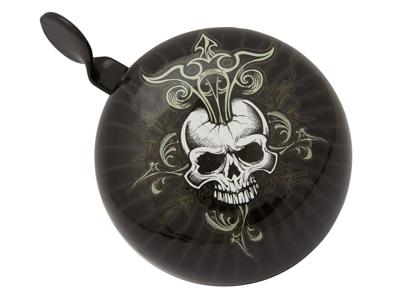 Atredo - Ringeklokke - Skull - Sort