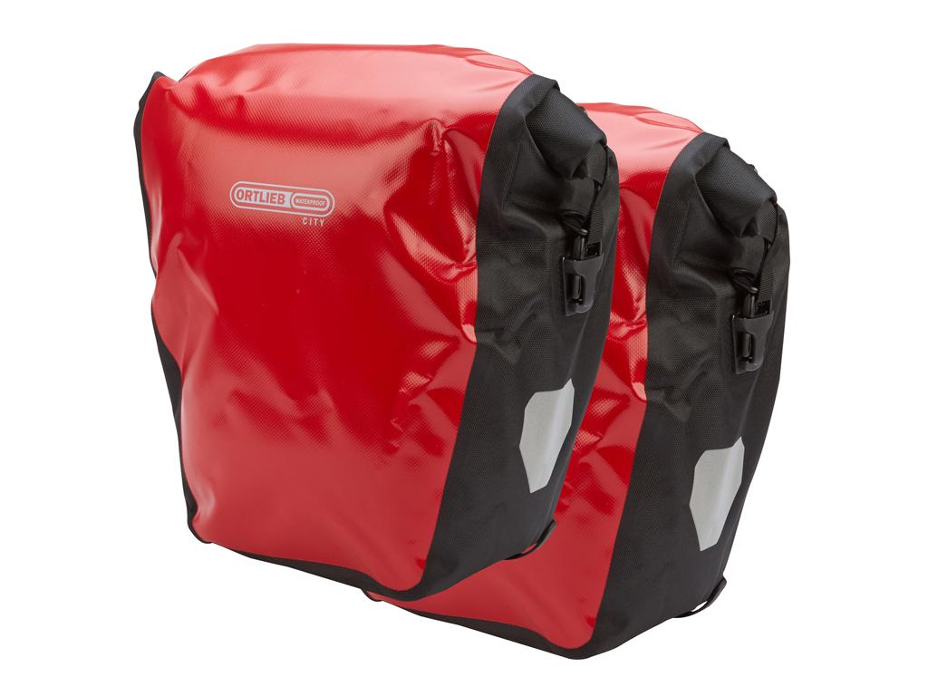 Billede af Ortlieb - Back-Roller City - Rød/Sort 2 x 20 liter