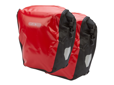 Ortlieb - Back-Roller City - Rød/Sort 2 x 20 liter