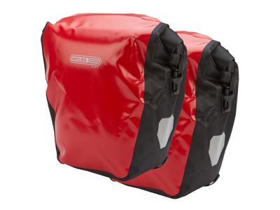 Ortlieb - Back-Roller City - Röd/Svart 2 x 20 liter