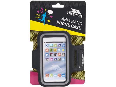Trespass Strand - Smartphone løbearmbånd - Sort