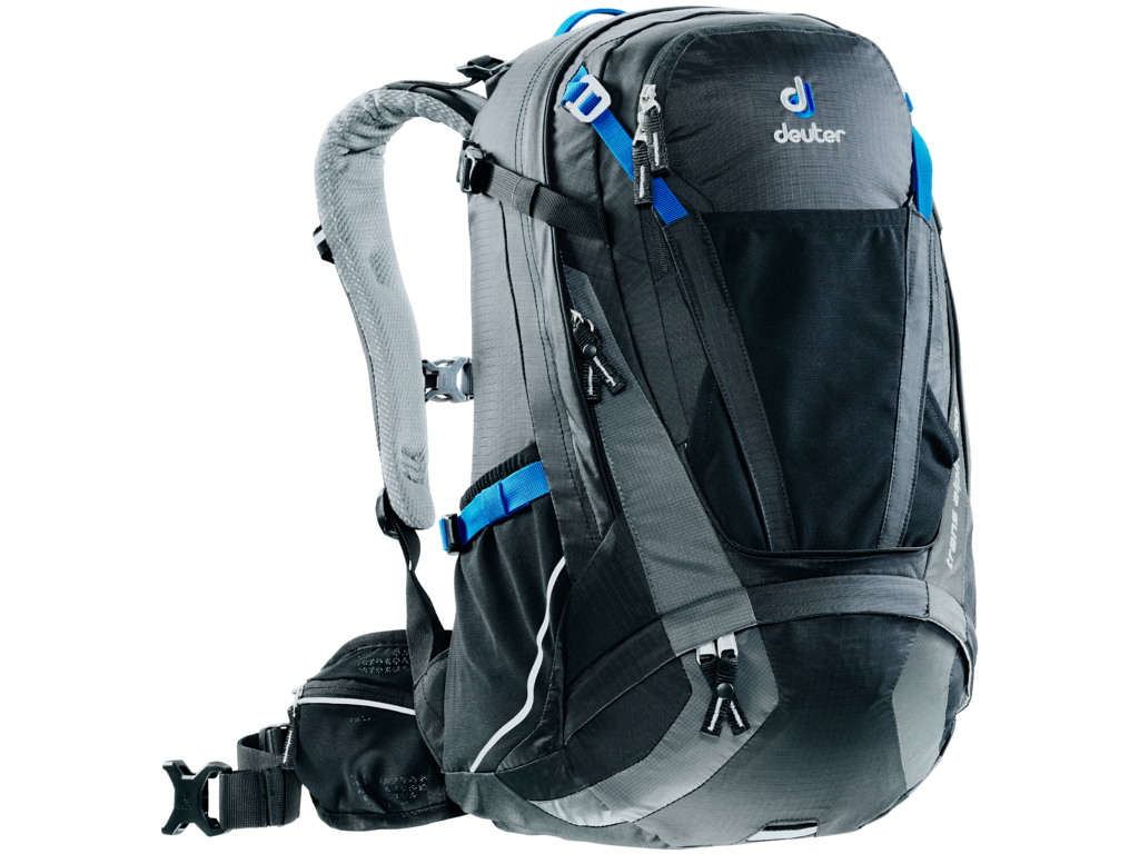 Image of   Deuter Trans Alpine - Rygsæk - 30 liter - Sort/grå