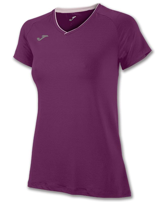 Joma - Løbe t-shirt S/S - Dame - Burgundy | Jerseys