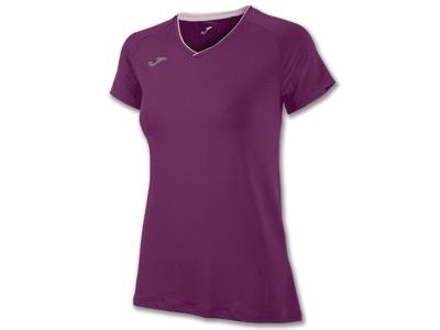 Joma - Løbe t-shirt S/S - Dame - Burgundy - Str. M