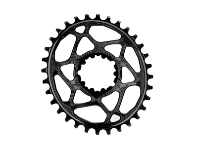 absoluteBLACK Oval klinge - Sram - Direct mount - Boost - Offset 3 mm - 32 tænder - Sort