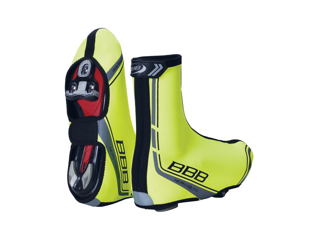 Image of   BBB Skoovertræk Heavy Duty - Str. 37-38 - Race/MTB - Neon