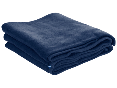 Trespass Snuggles - Tæppe 120 x 180cm - Fleece - Navy Blue