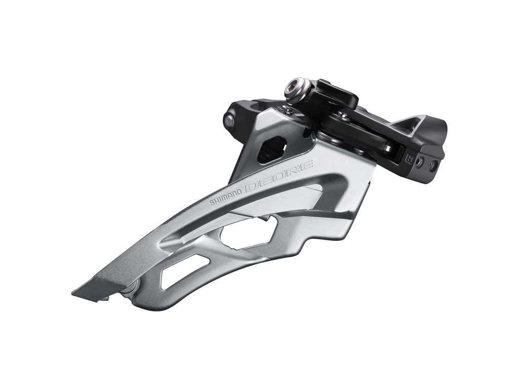 Image of   Shimano Deore - Forskifter FD-M6000-M - 3x10 40/42 tands low clamp med bånd - 28,6-34,9mm