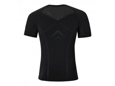 Odlo Evolution light - Basislag - T-shirt - Sort/grå