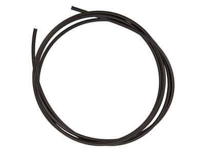Transfil yderkabel til bremsewire - ø5,0 mm - 25 meter - Sort