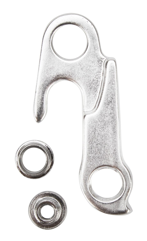 Geardrop type GH-124 - Sølv | Derailleur hanger