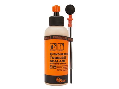Orange Seal Endurance - Tubeless væske - 118 ml. - Inkl. påfyldningssystem