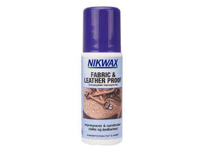 Nikwax Fabric & Leather - Impregnering till skodon textil och skinn - 125 ml