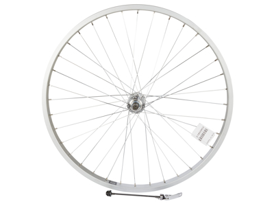 "Ryde 26"" baghjul - Aluminiumsfælg - 25-559 - Skruekrans - Quick Release - Sølv"