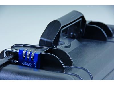 Hänglås Abus 145/40 blått med fyrsiffrig kod