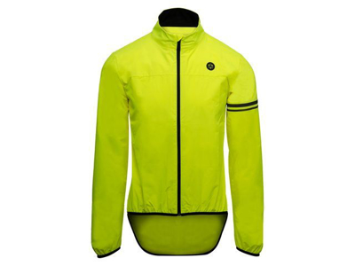 AGU Essential Wind - Windbreaker - Neon gul